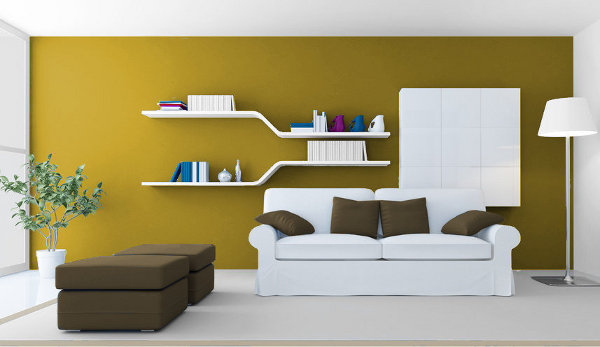 Casa y color visualizador de colores - Salones pintados en dos colores ...