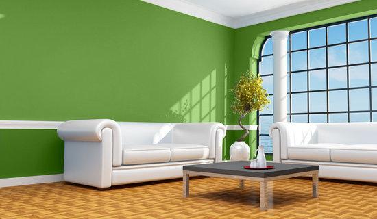 Imagen del color verde manzana imagui - Pinturas de casas interiores ...