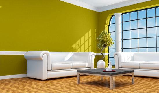 Casa y color visualizador de colores salon en verdes - Casas color verde ...