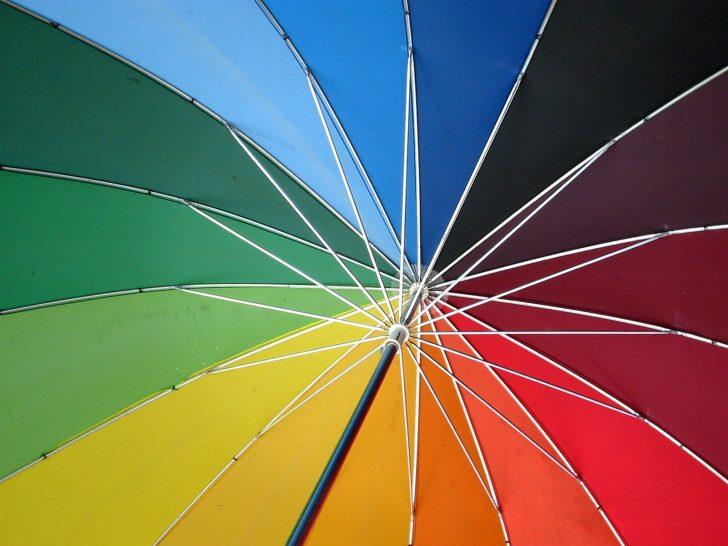 Circulo cromatico paraguas