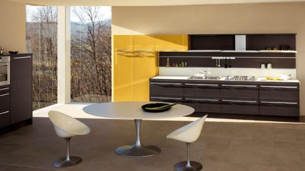 cocinamaderaoscura04  Casa y Color