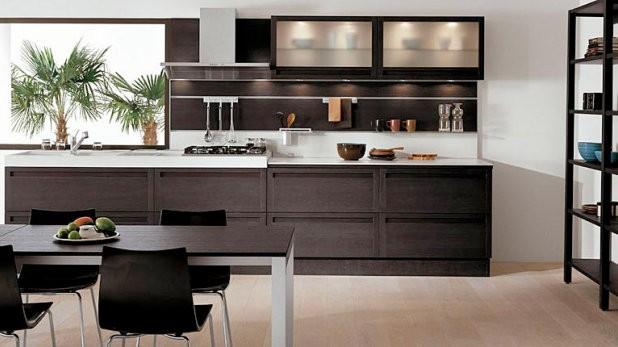 Gabinetes de cocina en mdf dise 241 o de la cocina - Colores para cocinas ...