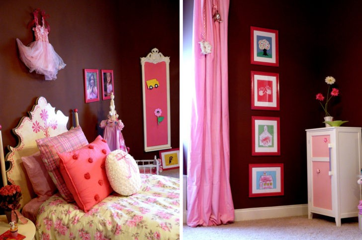 Detalles decorativos dormitorio chica