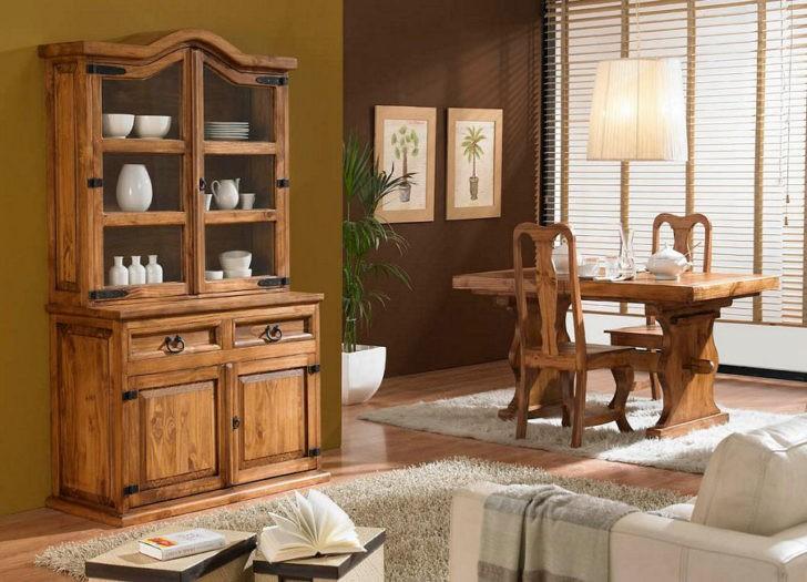 Elegantes interiores con muebles r sticos mexicanos casa for Muebles rusticos