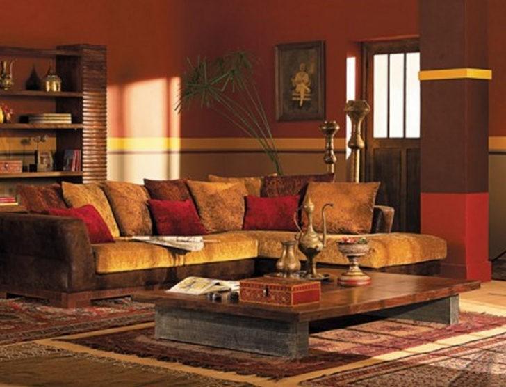 Paredes rojas decoracion hindu