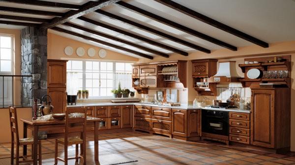 Dise os de cocinas cl sicas casa y color - Cocinas clasicas elegantes ...