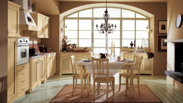 Decoracion Italiana Rustica ~ Cocinas Clasicas De Ala Cucine 01  Car Interior Design