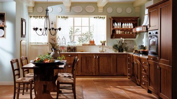 Dise os de cocinas cl sicas casa y color for Cocinas integrales clasicas