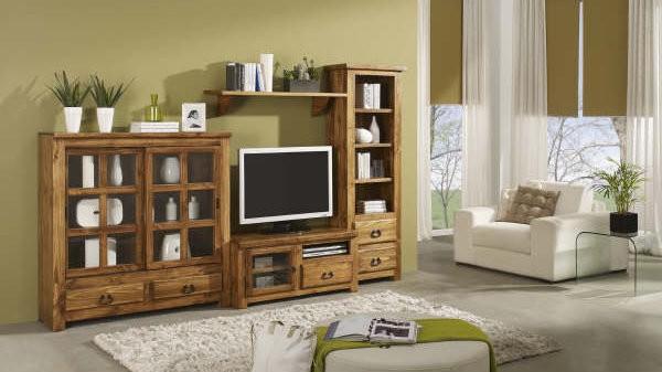 Mueble para TV rustico