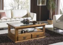 Elegantes interiores con muebles rústicos mexicanos