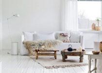 Ideas para decorar en blanco sobre blanco