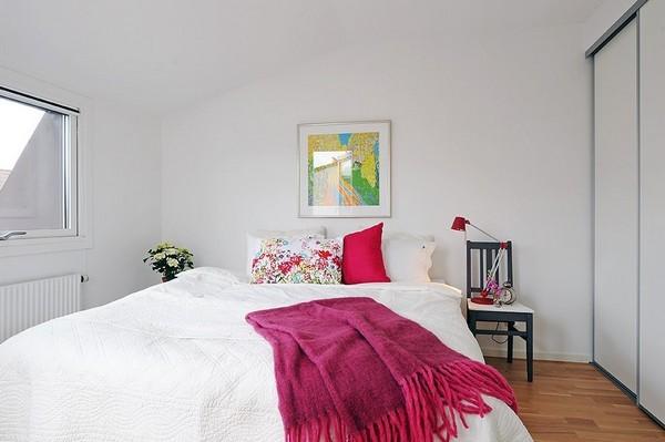 Blanco sobre blanco casa y color - Dormitorios color blanco ...