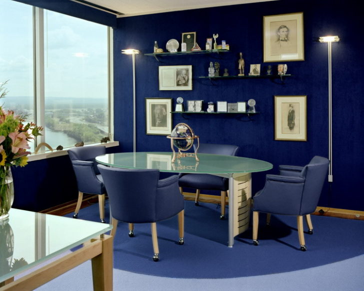 Estudio oficina azul