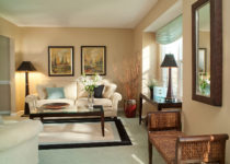 El clásico beige en la decoración y paredes