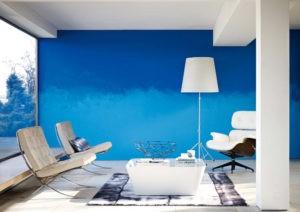 La elegancia y pasividad del azul