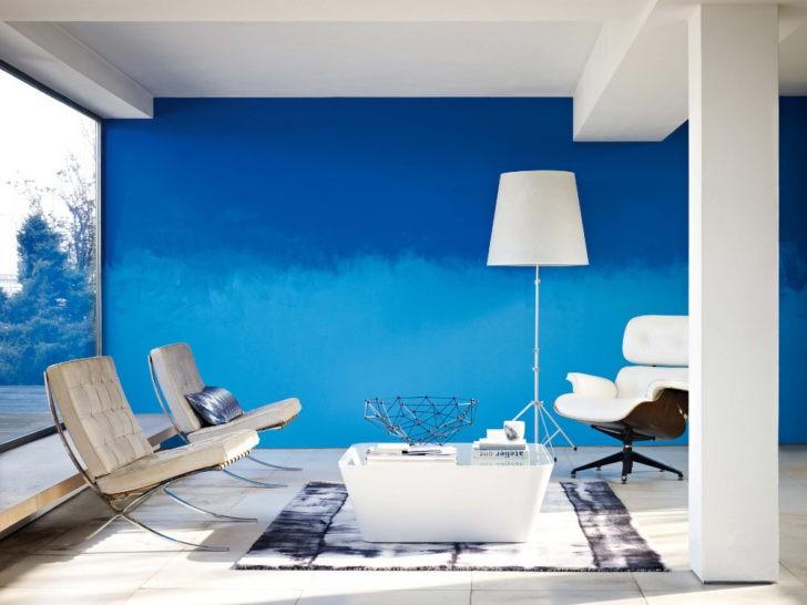 Sala pared azul Colour Futures