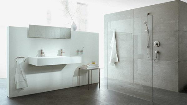 Baños Diseno Imagenes:Por último el minimalismo dicta el diseño de los baños modernos