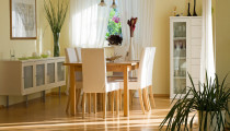 Los muebles de comedor
