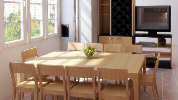 Los muebles de comedor casa y color for Muebles de comedor diario