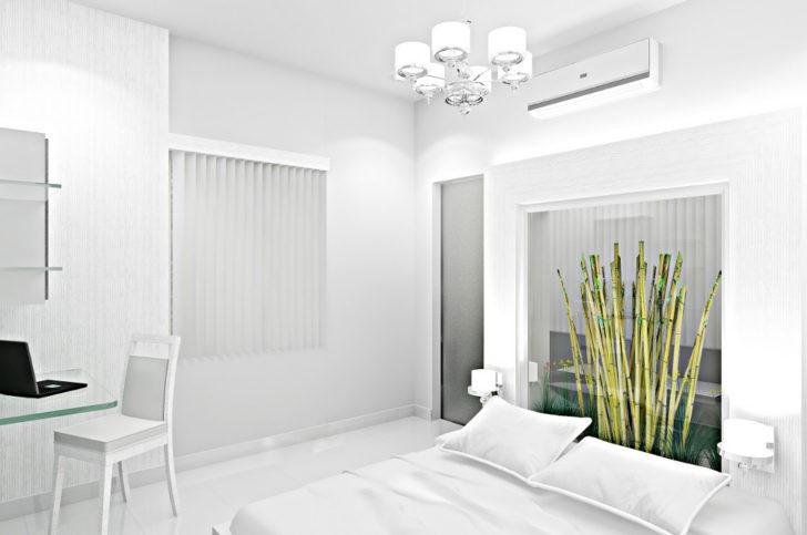 Ambiente blanco iluminado