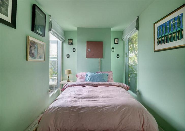 Verde berilo el color del 2009 casa y color for Dormitorios verde agua