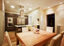 Iluminación general en la decoración interior