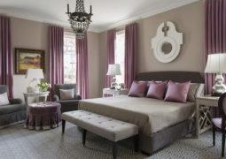 Escoge las cortinas para los dormitorios casa y color for Decoracion pieza matrimonial