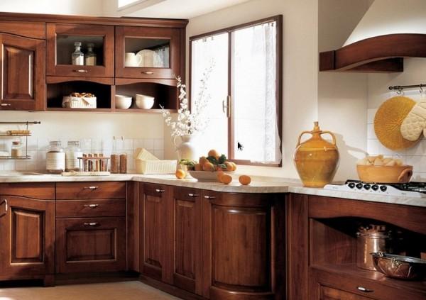 Fotos de muebles de cocina de madera imagui for Colores para gabinetes de cocina