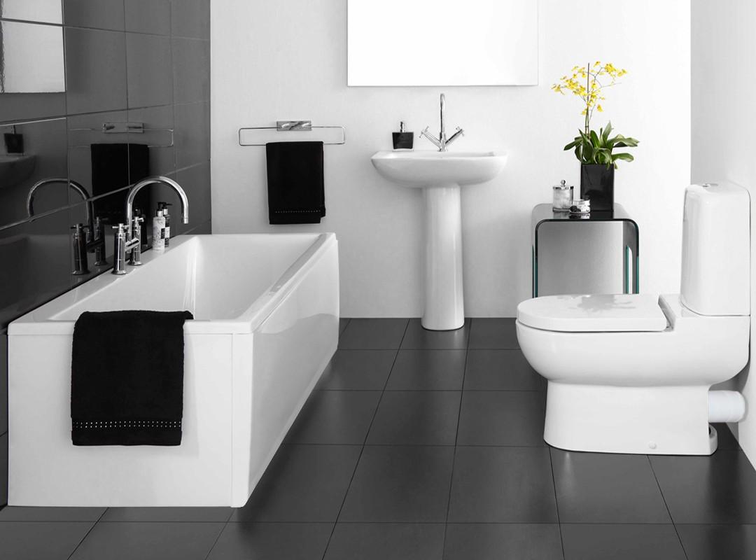 Consejos de decoraci n para ba os peque os casa y color for New bathroom pics