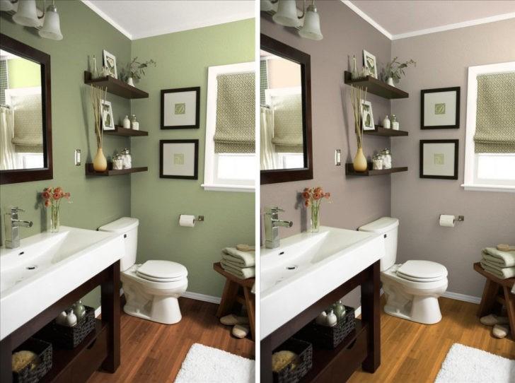 Consejos de decoraci n para ba os peque os casa y color - Pintura especial para banos ...