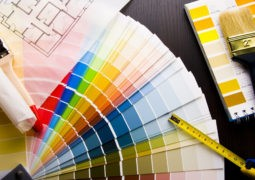 Cómo utilizar las cartas de colores de pinturas