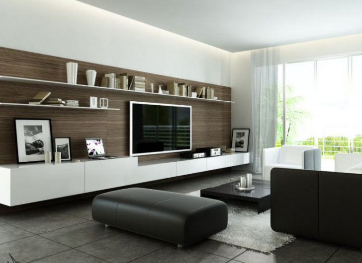 Mueble para tv de pared grande