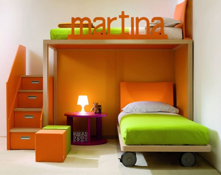 Colores unisex para cuartos infantiles casa y color - Habitaciones color naranja ...