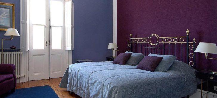 Pintar y decorar en colores violetas o morados