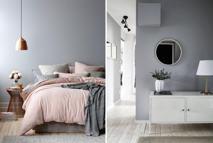 Combinar un gris suave en paredes casa y color for Cortinas para paredes grises