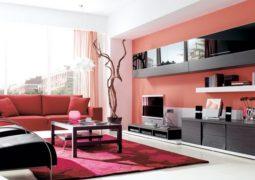 Cómo utilizar los colores fuertes para pintar y decorar interiores