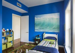 Combinaciones de colores con azul para habitación de varones