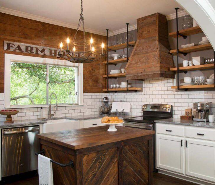 Lo b sico para decorar una cocina r stica casa y color - Cocina rustica blanca ...