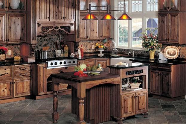 La cocina rústica