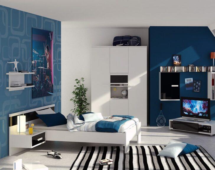 Dormitorios de ni os en tonos azules casa y color - Colores para dormitorios modernos ...