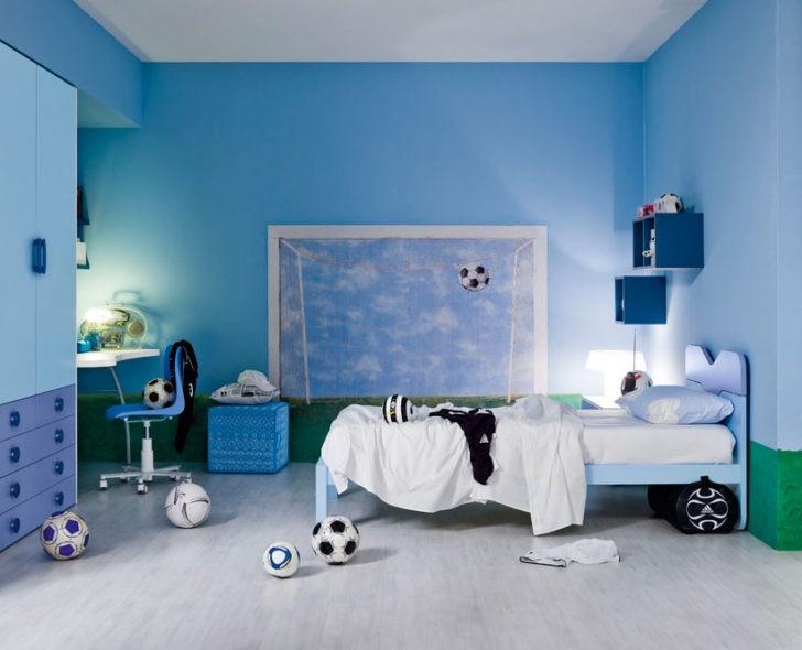 Dormitorios de ni os en tonos azules casa y color - Colores azules para paredes ...