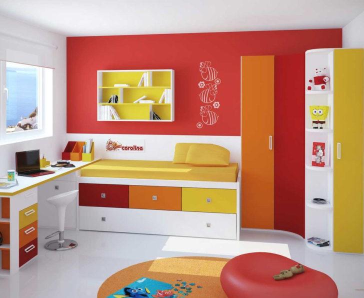 Colores calidos cuarto infantil