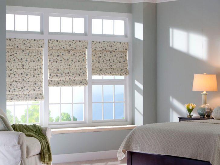 Ventanas de dormitorio blancas
