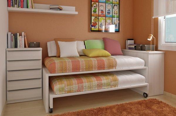 Compartiendo la habitaci n casa y color - Fabricar cama nido ...