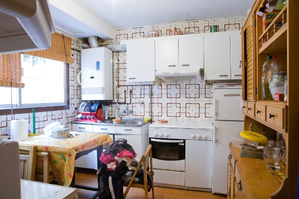 Cocina reformada sin obras dise os arquitect nicos for Cocinas viejas reformadas