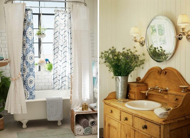 Bohemio eclectico baño