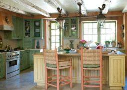El estilo campestre en la cocina