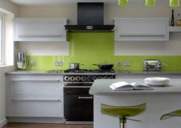 Qu es una cocina integral casa y color for Cocina pintura pato azul