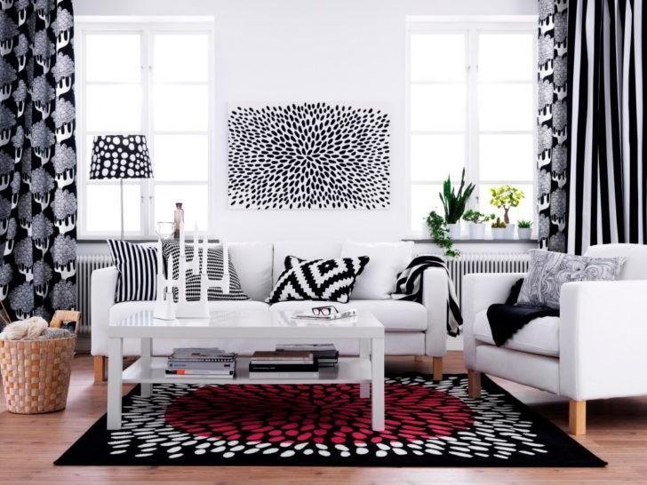 Conjunto Ikea blanco y negro