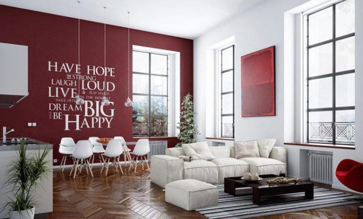 Decorando En Color Borgoña O Vino Tinto Casa Y Color